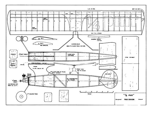1/4 Pint - plan thumbnail image