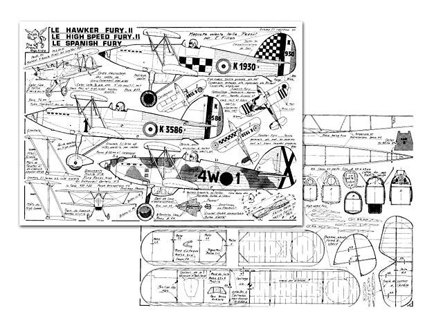Hawker Fury - plan thumbnail image