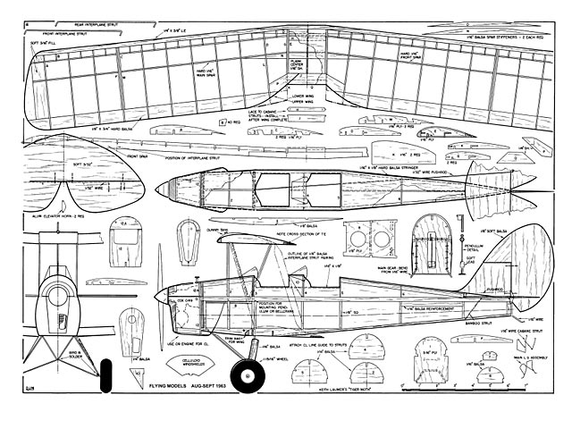 Tiger Moth plan - Free download - Outerzone