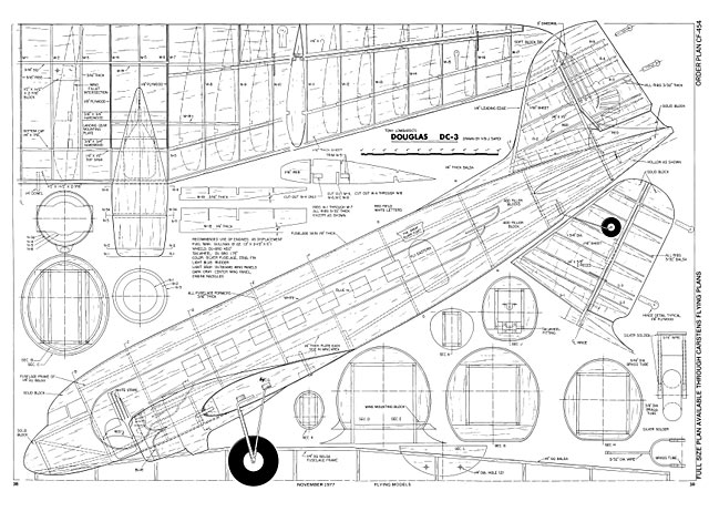 Douglas Dc 3 Plan Free Download Outerzone