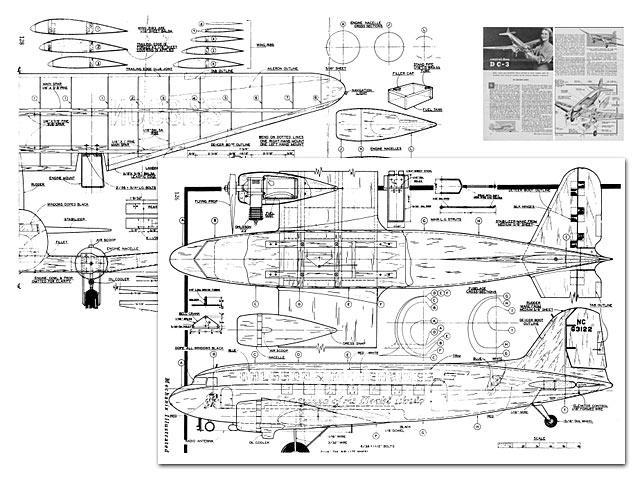 Douglas DC-3 - plan thumbnail image