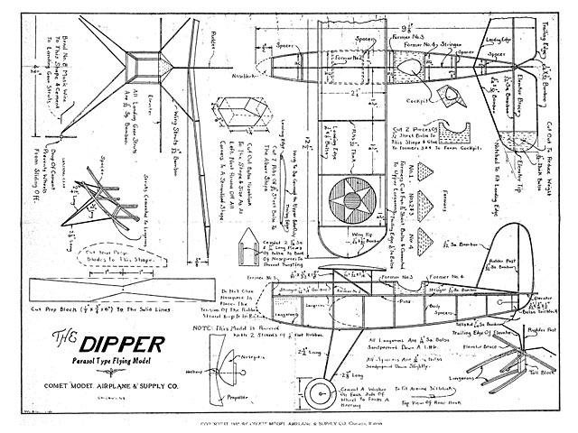 Dipper - Comet - 1932 - 13in