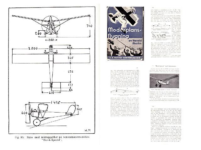 Hawk Special - H Dowsett - 1934 - 98in