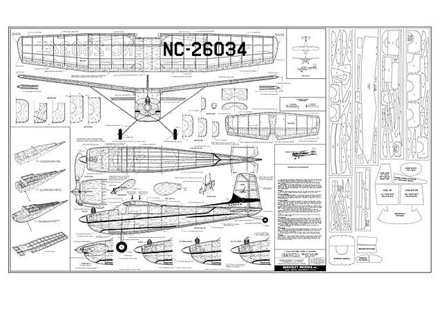 Cessna 180 - plan thumbnail image