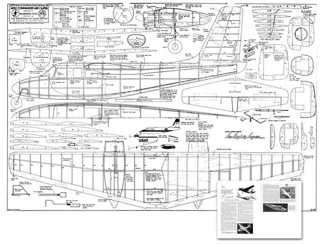 Aero Commander 680 Super - plan thumbnail image