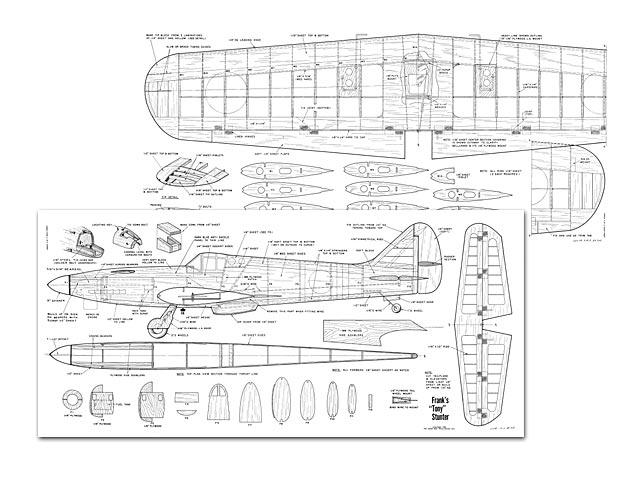 Kawasaki Ki-61 Tony - plan thumbnail image