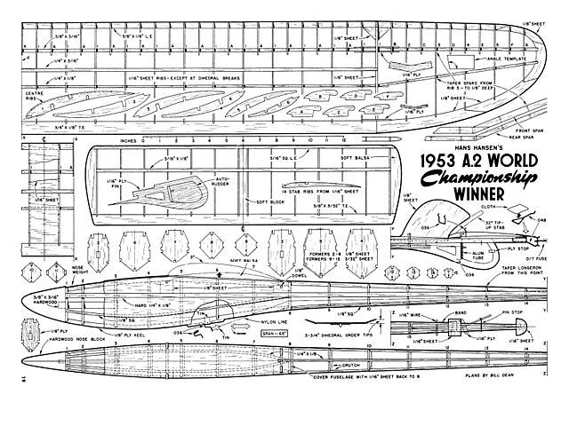 1953 World Championship Winner - plan thumbnail image