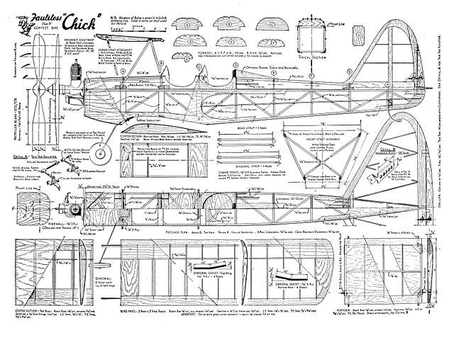 Faultless Chick - plan thumbnail image