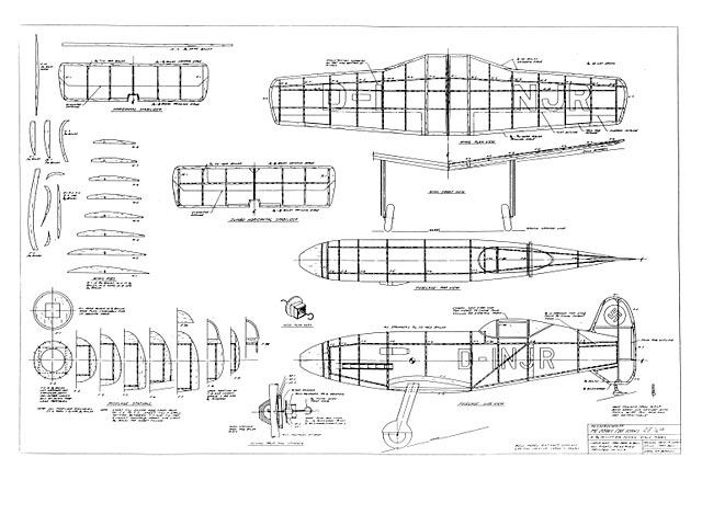 Me 209 (oz25) by John Bell from Bell Models