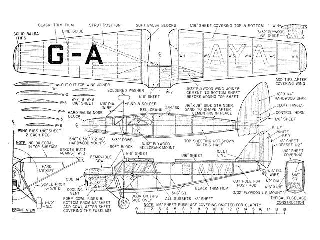 DH.85 Leopard Moth - plan thumbnail image
