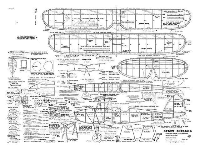 Sport Biplane - plan thumbnail image