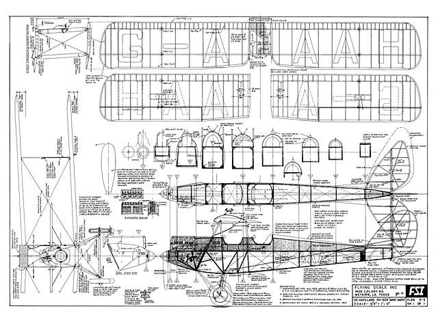 DH.60G Gipsy Moth (oz2623) by Bill Galloway from FSI 1991