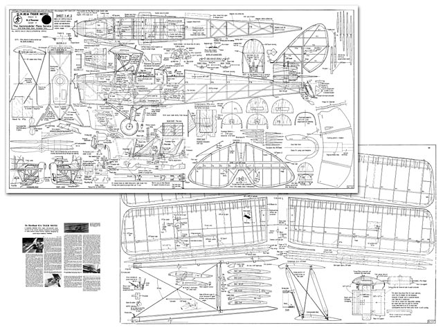 Dh Tiger Moth Plan Free Download Outerzone