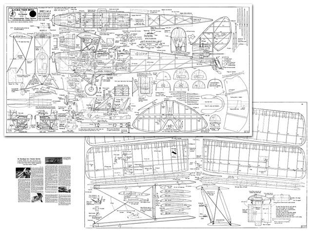 DH Tiger Moth - plan thumbnail image