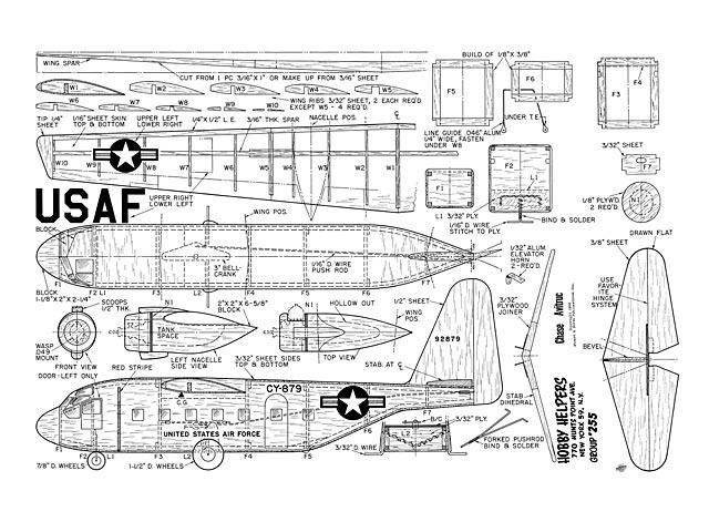 Chase C-122 Avitruc - plan thumbnail image