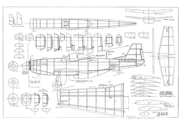 P-51D Mustang (oz2731) by John Bell from Bell Models