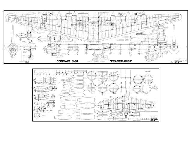 Convair B-36 Peacemaker (oz2778)