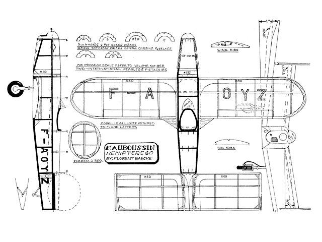 Mauboussin Hemiptere Type 40 - plan thumbnail image