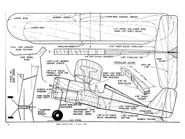 Laird Biplane Plan - Free Download