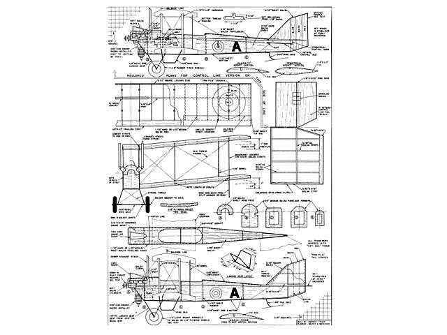 DeHavilland DH6 Trainer - plan thumbnail image