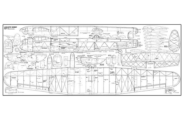 Lancaster Bomber - plan thumbnail image