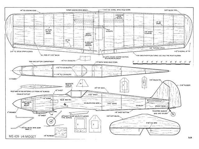 Me 109 - plan thumbnail image