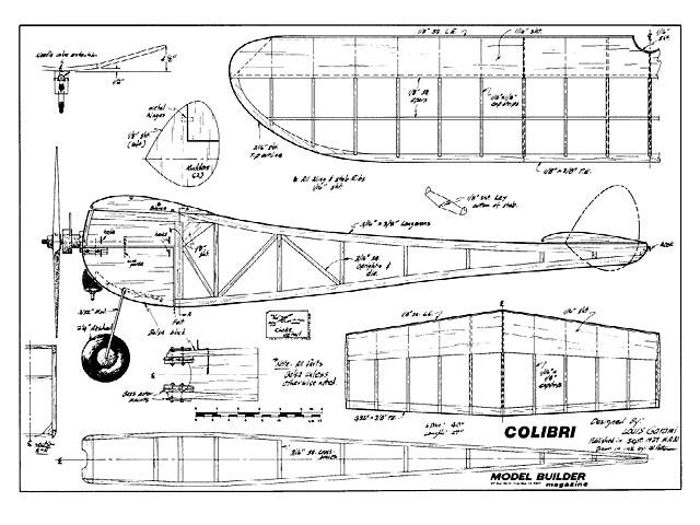 Colibri (oz288) by Lou Garami 1939