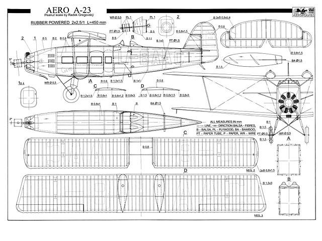 Aero A.23 (oz2932) by Radek Gregovský