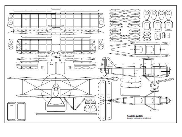 Caudron Luciole (oz2943) by Arno Diemer
