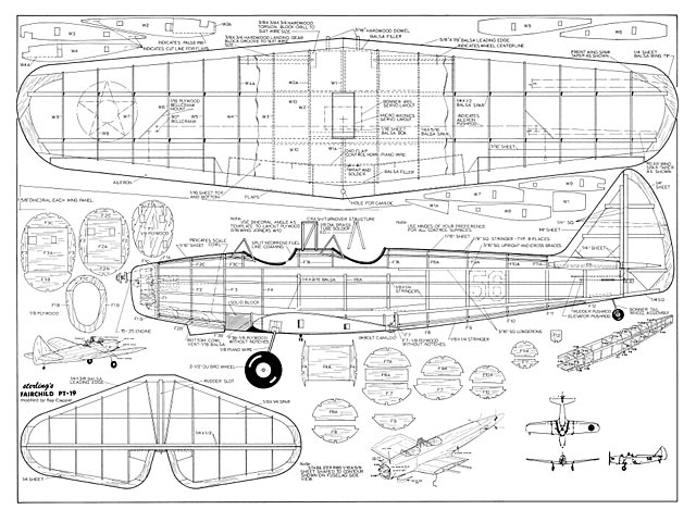 fairchild pt-19 plan - free download