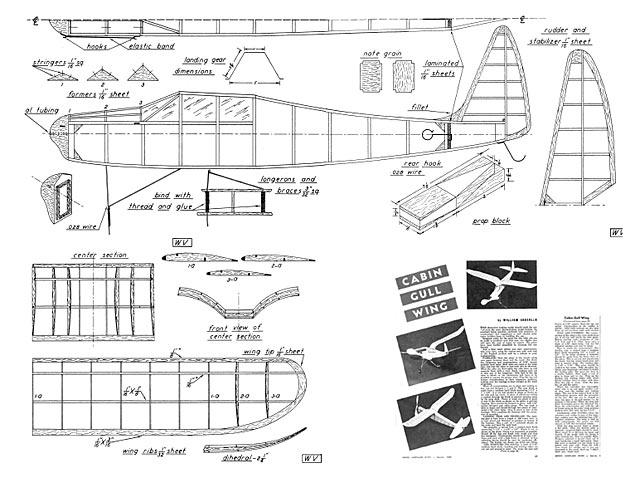 Cabin Gull Wing - plan thumbnail image