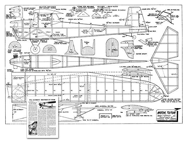 Kirby Motor Tutor - plan thumbnail image