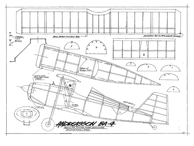 Andreasson BA-4 (oz2972) by Lloyd Willis from Flying Aces Downunder