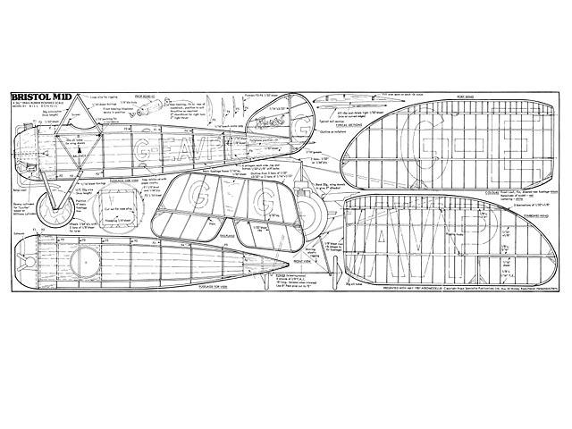 Bristol M1D - plan thumbnail image