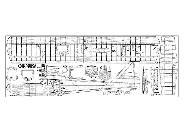 Kookaburra (oz303) from Flying Models 1968