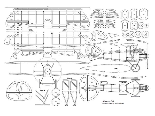 Albatros DIV (oz3053) by Arno Diemer