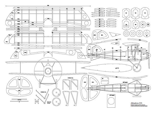 Albatros DV (oz3054) by Arno Diemer