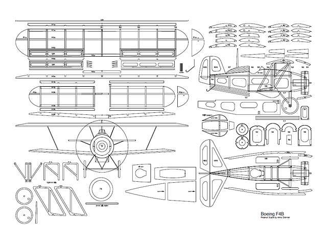 Boeing F4B-4 (oz3062) by Arno Diemer