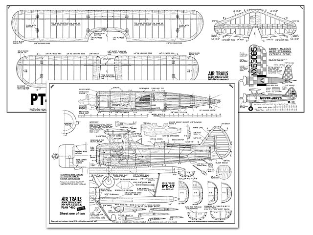 PT-17 plan - Free download - Outerzone