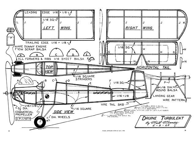 Druine Turbulent - plan thumbnail image
