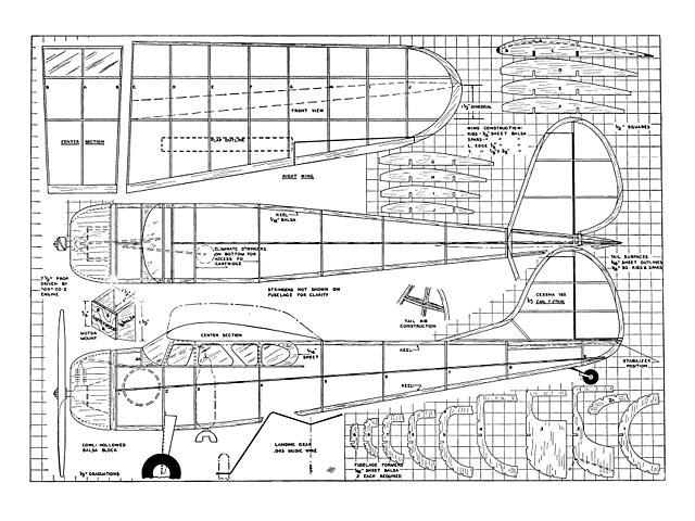 Cessna 195 - plan thumbnail image