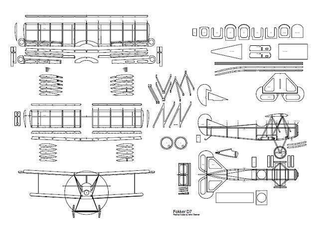 Fokker D7 (oz3130) by Arno Diemer