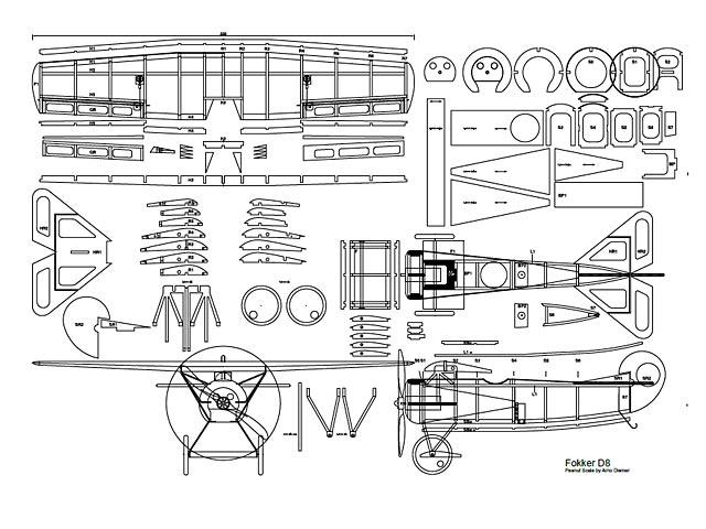 Fokker D8 (oz3131) by Arno Diemer
