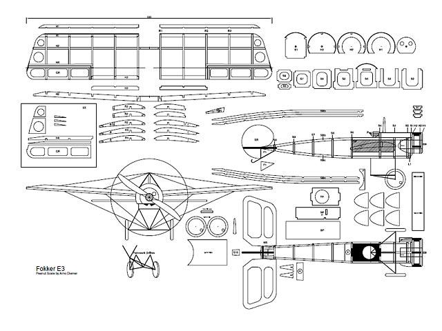 Fokker E3 (oz3134) by Arno Diemer