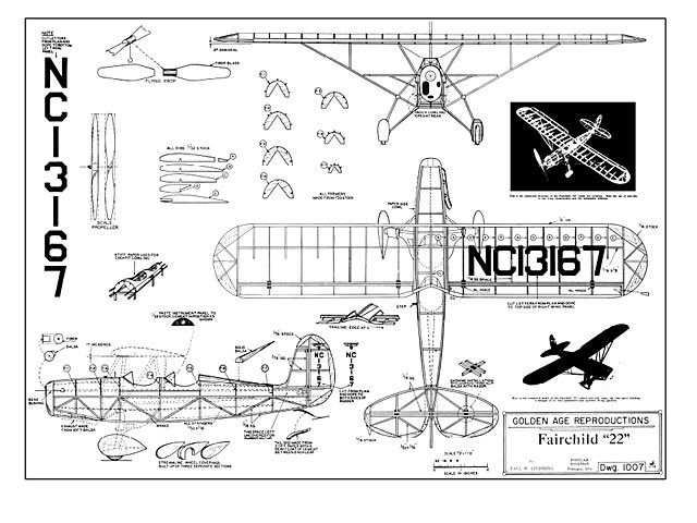 Fairchild 22 - plan thumbnail image