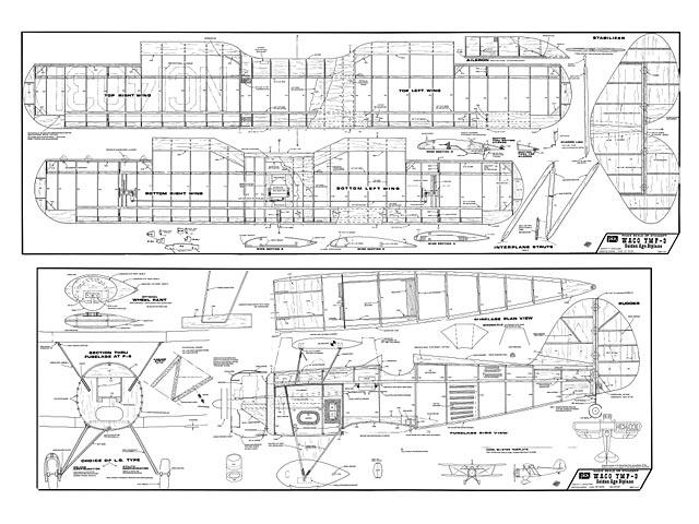 Waco YMF-3 - plan thumbnail image
