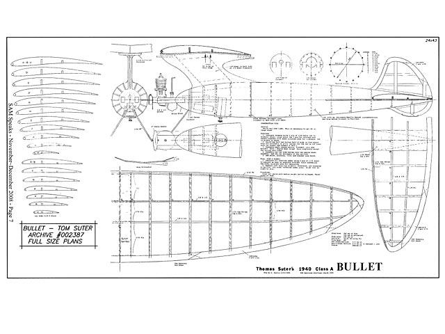Bullet (oz3183) by Thomas Suter 1940