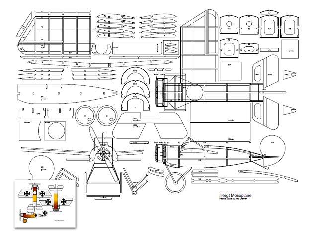 Hergt Monoplane - 3194