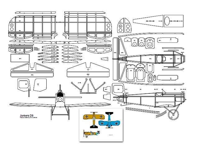 Junkers D-9 (oz3195) by Arno Diemer