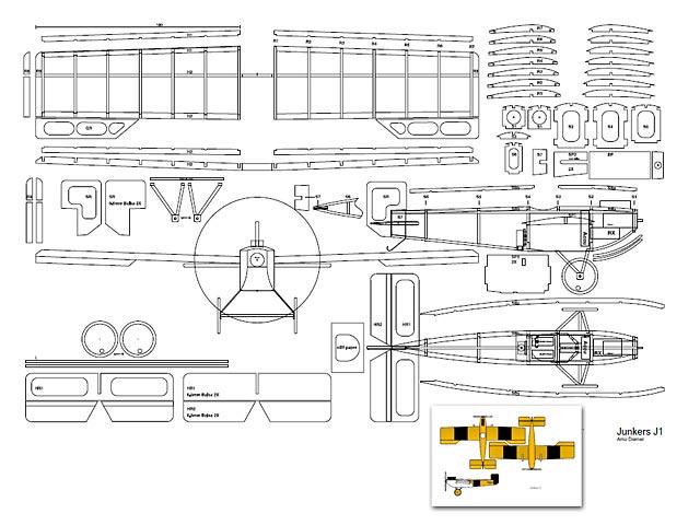 Junkers J-1 (oz3196) by Arno Diemer